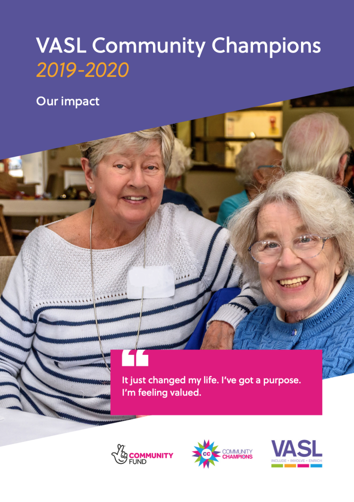 Community Champions Impact Report